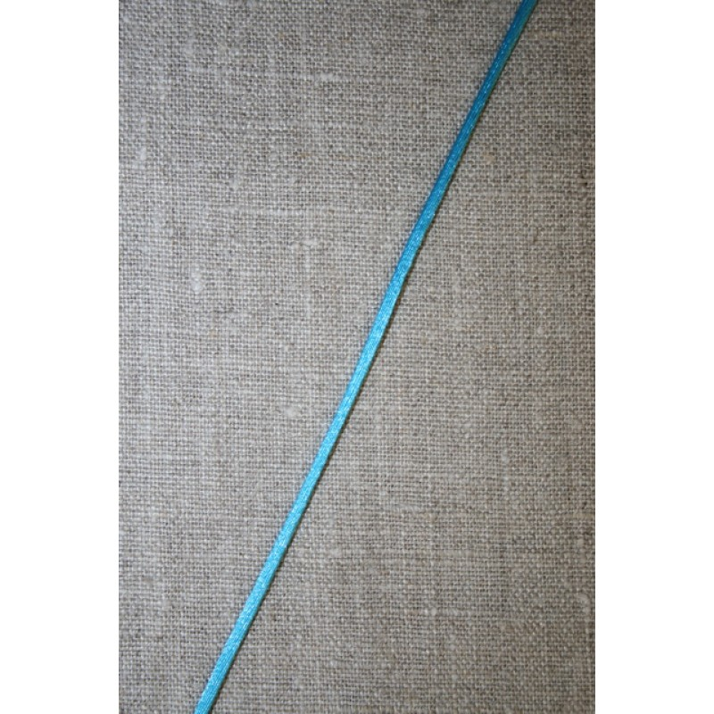 Satinsnor 2,2 mm. turkis