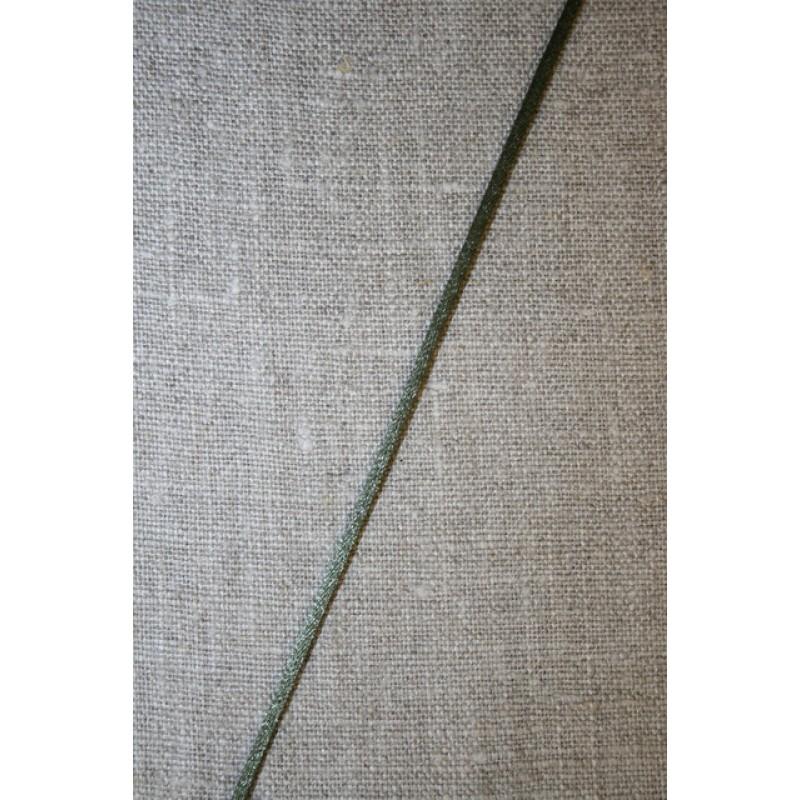 Satinsnor 2,2 mm. støvet grøn-army-35