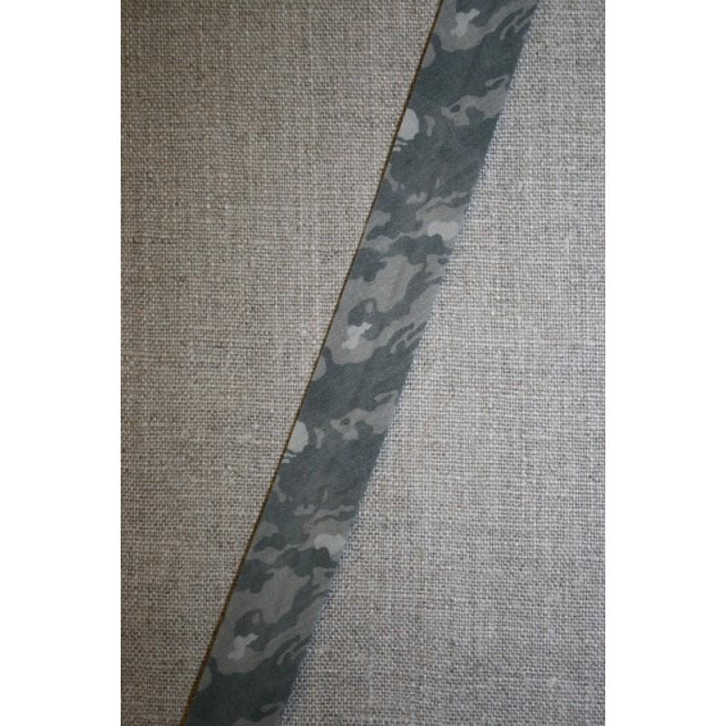 Skråbånd army-look, grå/lysegrå/koksgrå-35