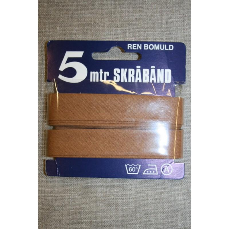 5meterbomuldsskrbndlysrdbrun-35
