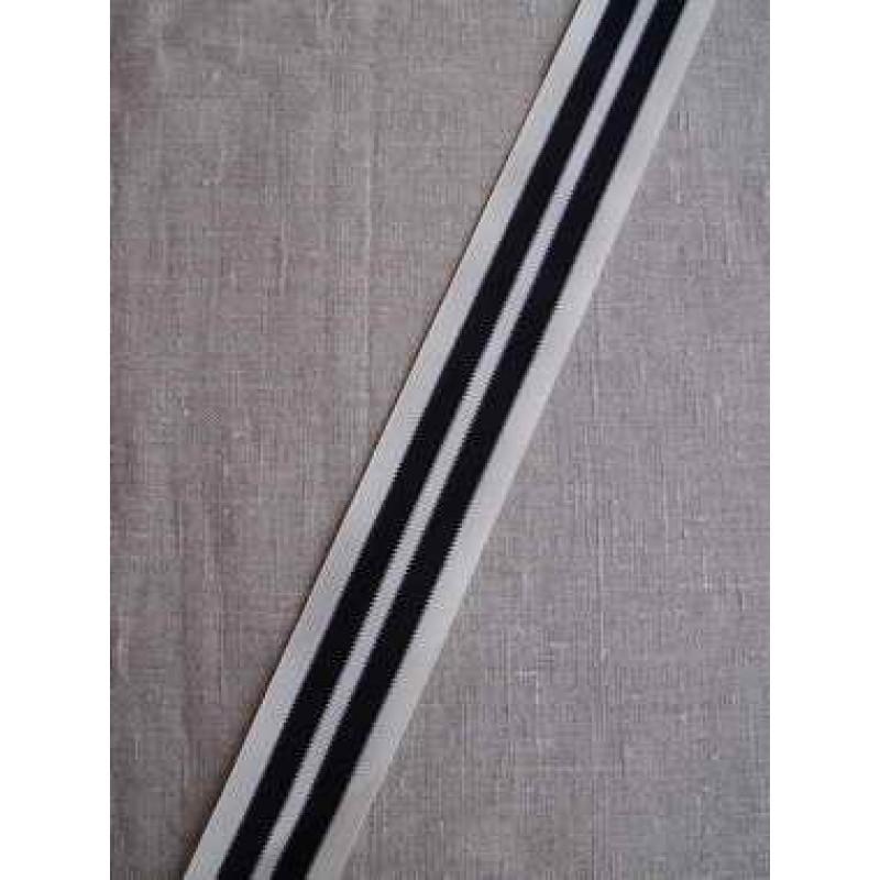 Sportsbånd off-white og sort-31