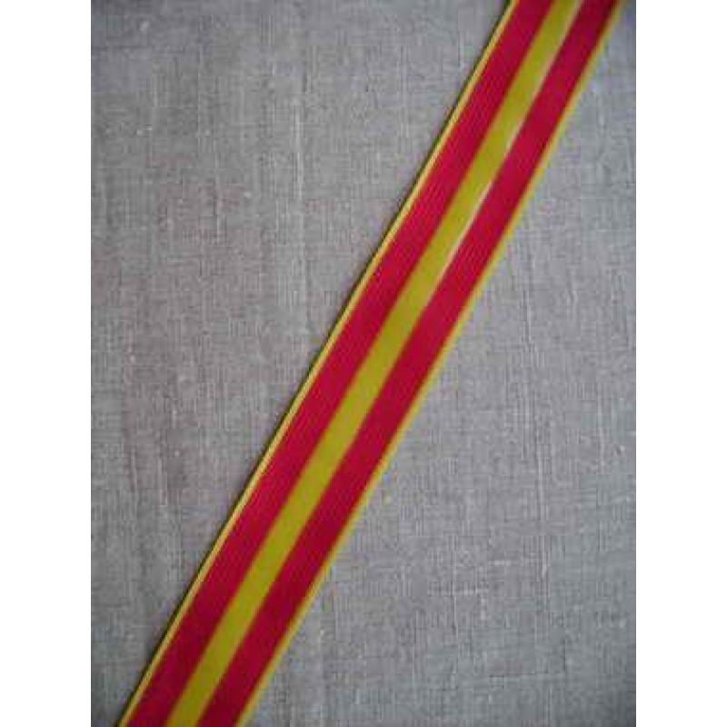 Sportsbånd rød og gul