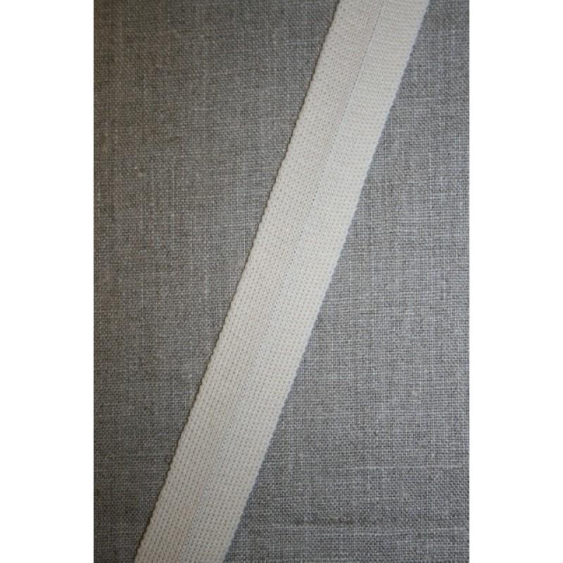 Kantbånd/Foldebånd, off-white