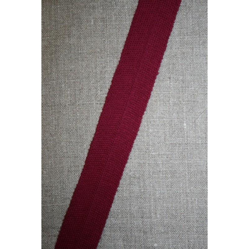 Kantbånd/Foldebånd vinrød-35