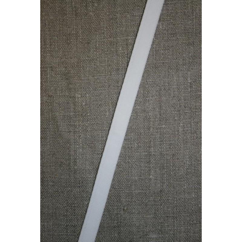 Rest Corsage-/Tubebånd hvid- 50+60 cm. Ialt 110 cm.