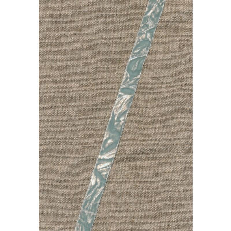 Krøllet velour bånd, vandgrøn-31