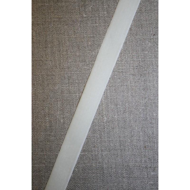 Rest Velourbånd off-white 16 mm. 135 cm.-31