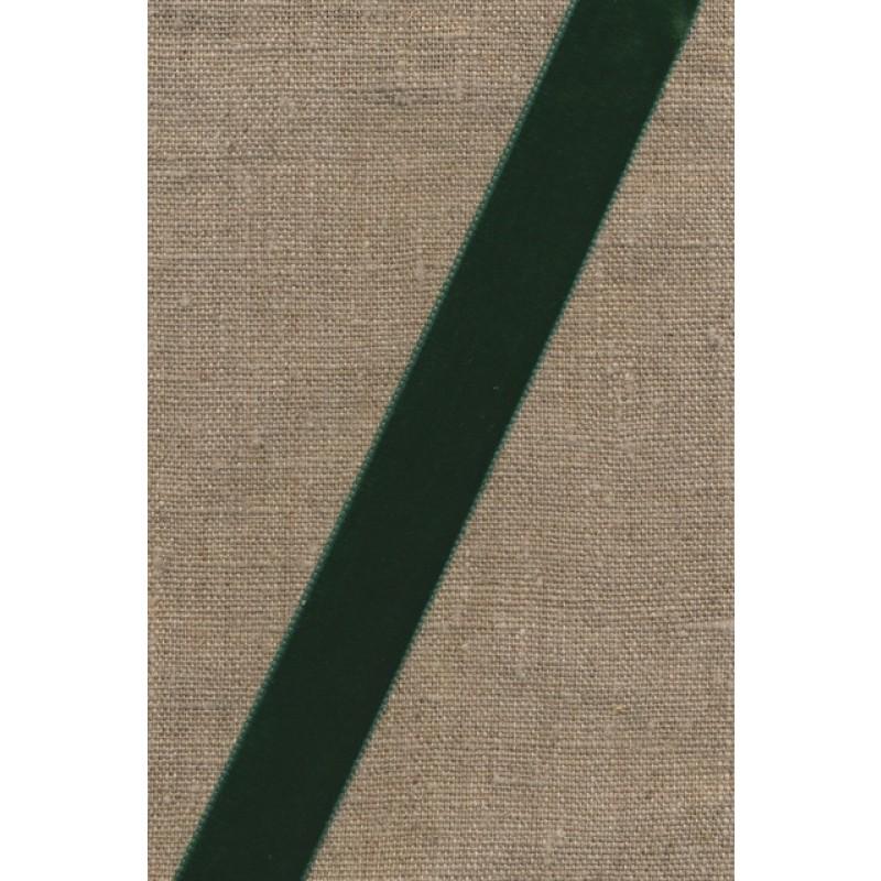 Velourbånd flaskegrøn 22 mm.-38