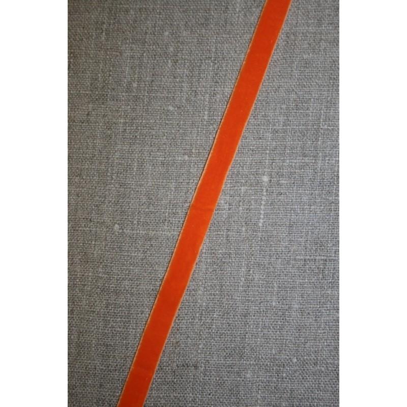 Velourbånd m/stræk, orange-35