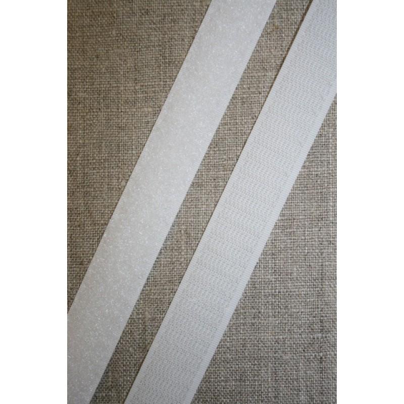 20 mm. velcro hvid-35