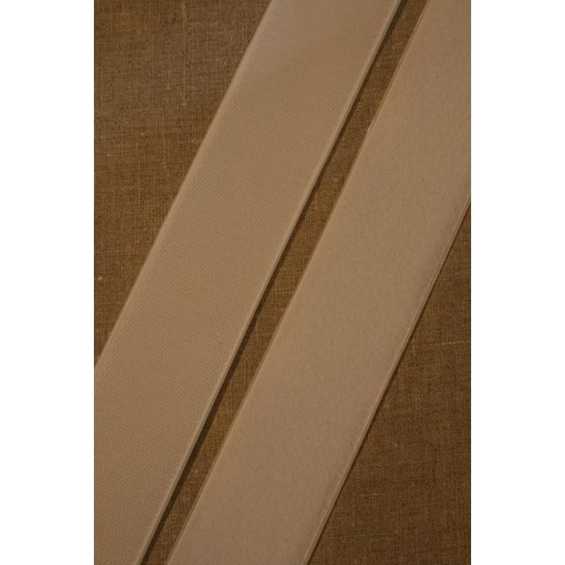 50 mm velcro hvid med lim selvklæbende-35