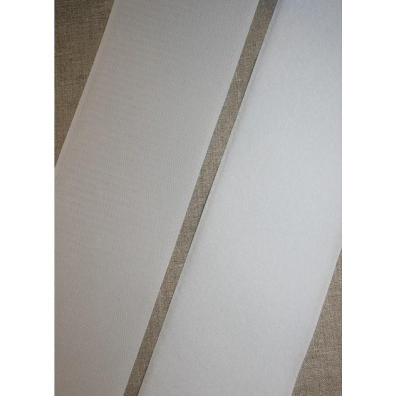 100 mm. velcro hvid