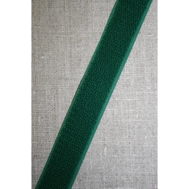 25 mm. velcro flaskegrøn, loop