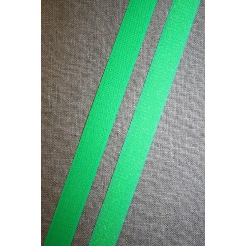 20 mm. velcro neon grøn, hook