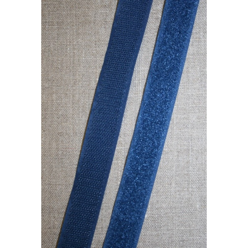20 mm. velcro denim blå-33