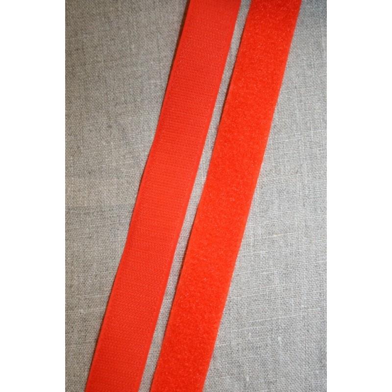 Rest 25 mm. velcro orange 50 cm. hook+loop-33