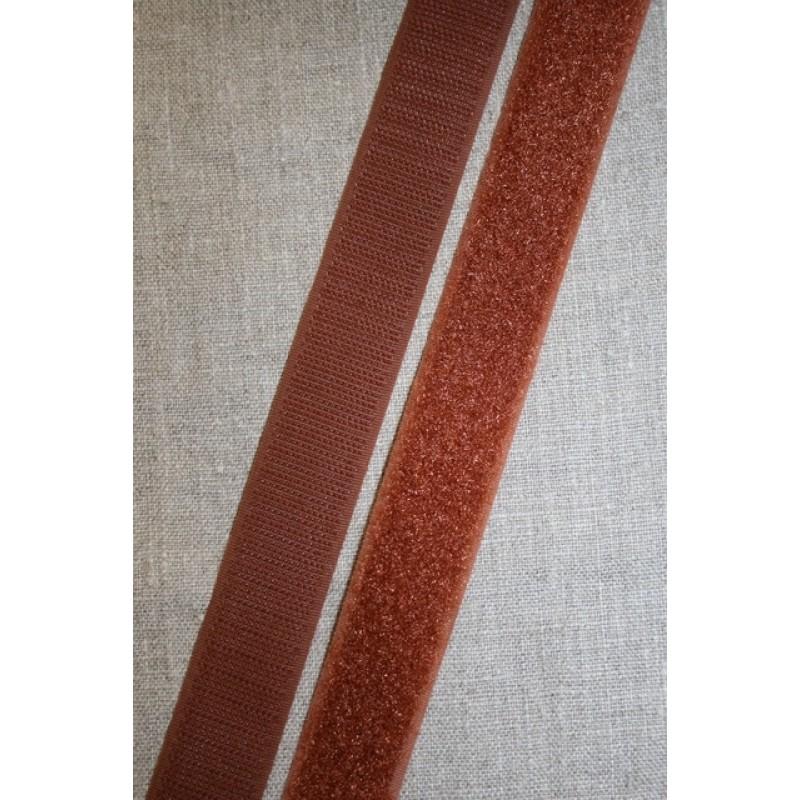 Rest 25 mm. velcro brun hook+loop 50 cm.
