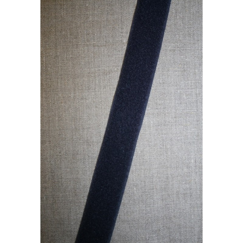 30 mm. velcro mørkeblå, loop-35