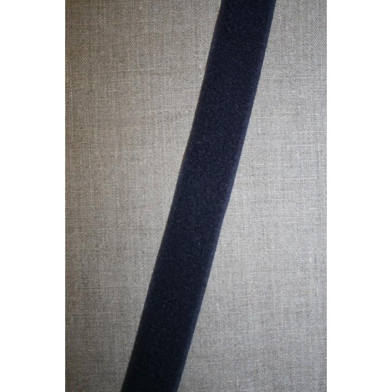 30 mm. velcro mørkeblå, loop