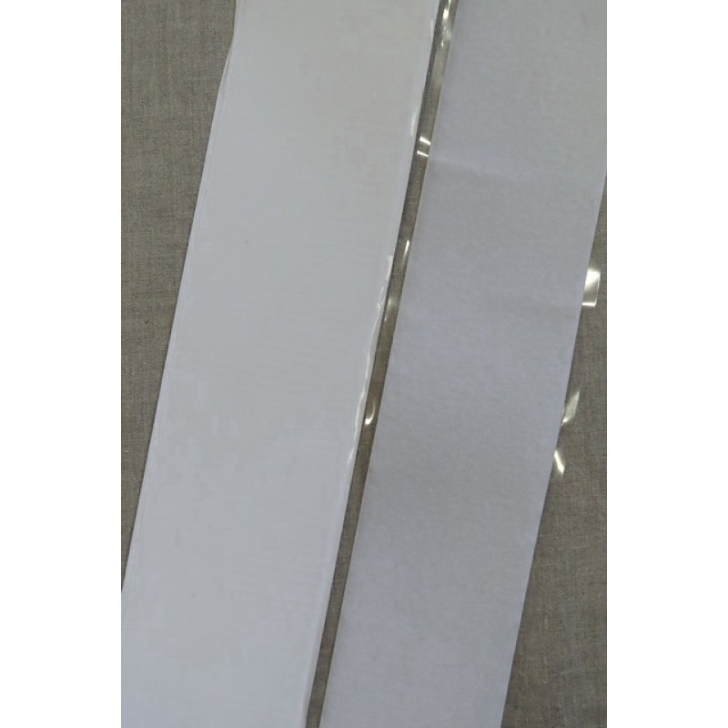 100 mm. velcro hvid med lim selvklæbende-32