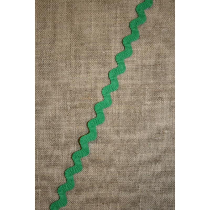 Rest Zig-zag bånd græsgrøn, 30 cm.