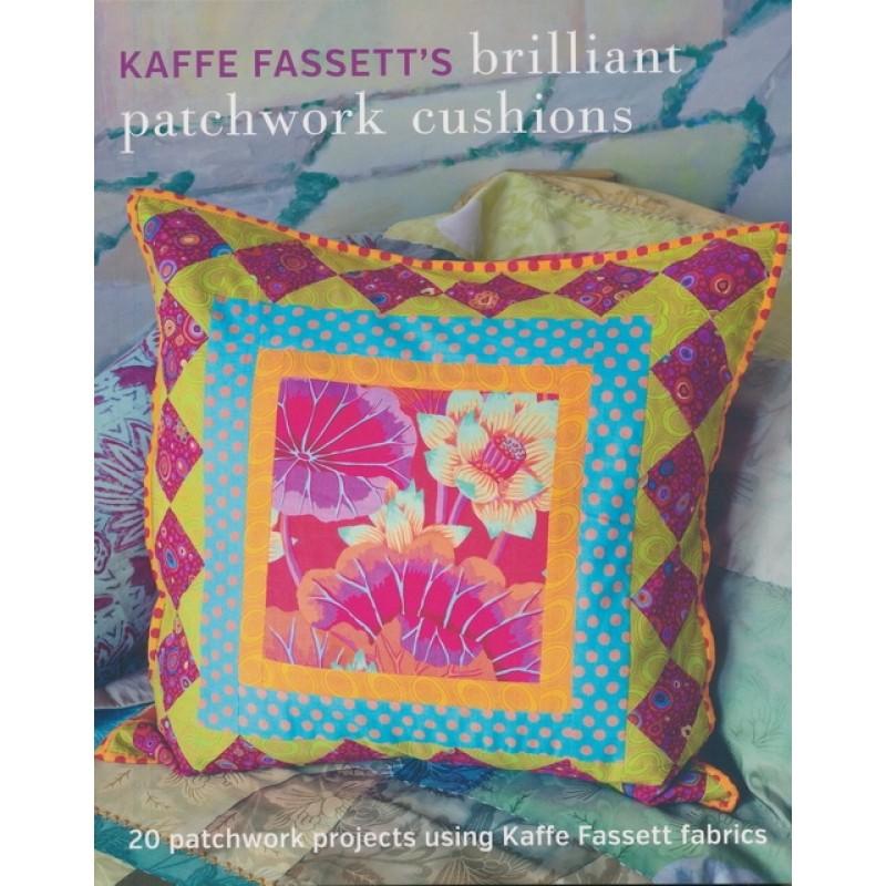 Bog af Kaffe Fassett Brillinat Patchwork Cushions
