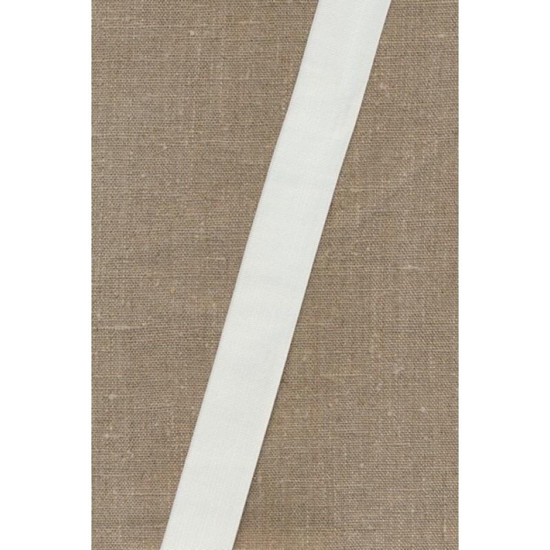 Pose m/2 meter 30 mm. hvid elastik