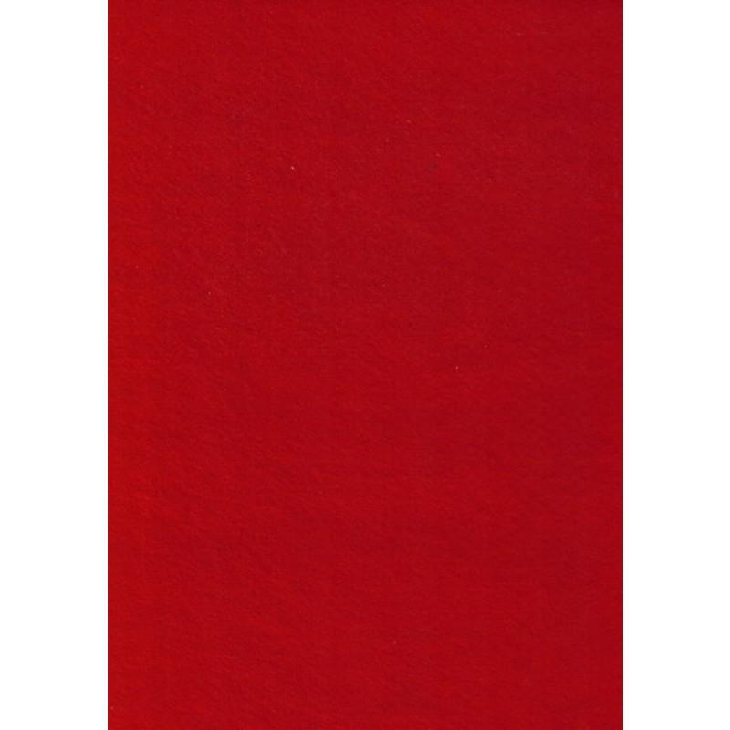 Hobby filt rød-32