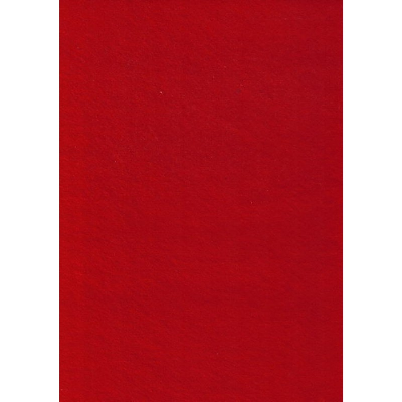 Rest Hobby filt rød, 15 cm.
