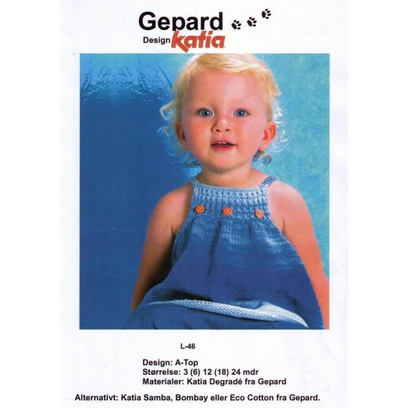 Gepard mønster Baby A-top-31