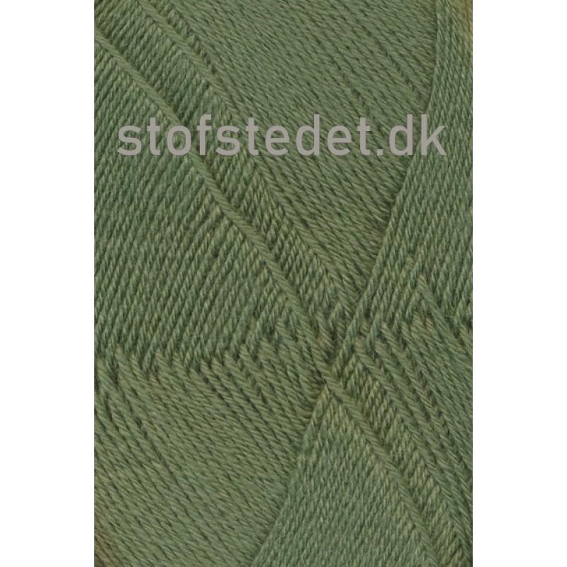 Aloe strømpegarn i støvet grøn fv.5635-312