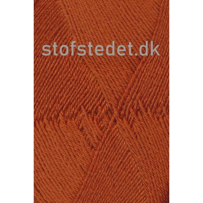 Aloe strømpegarn i lys rust fv.5640-39