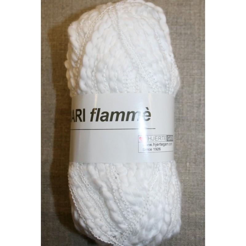 Bomuldsgarn Bari Flammé, hvid-35