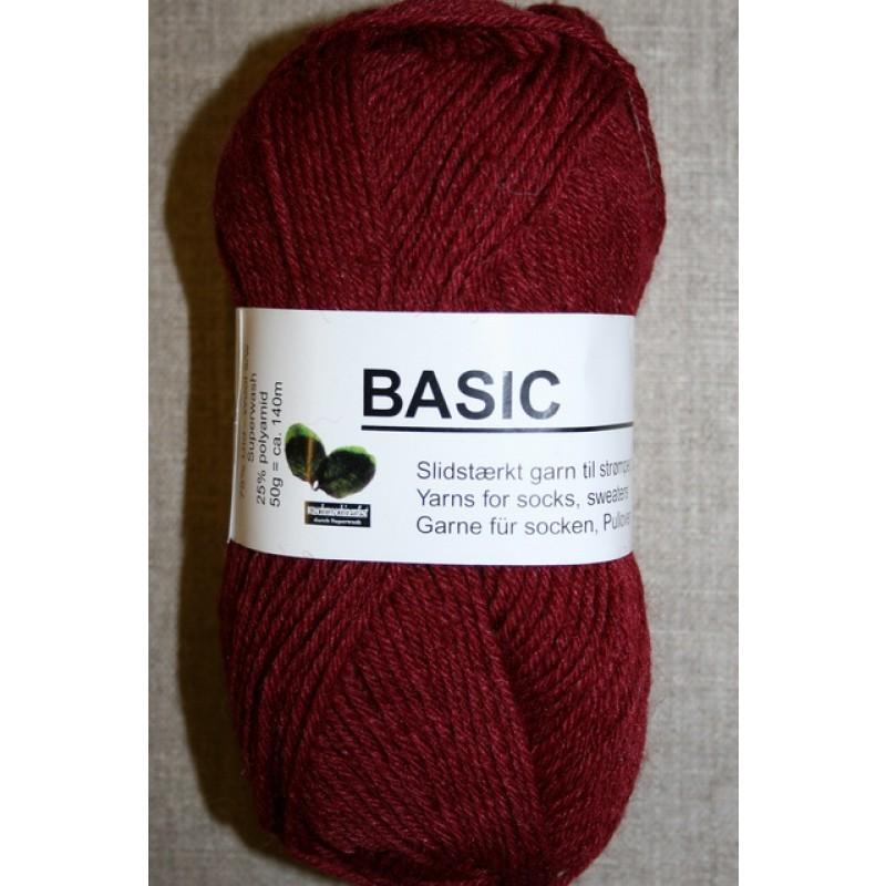Basic uld/polyamid Bordeaux-35