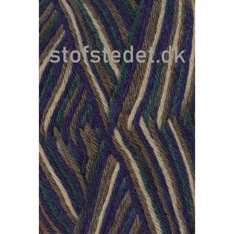 Basic uld/polyamid, Camouflage army/lilla/mørkegrøn