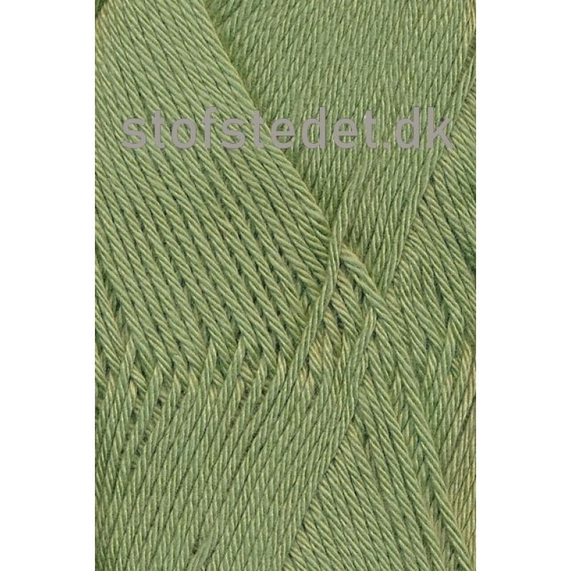 Blend-Tendens Bomuld/acryl garn grøn i Støvet grøn-32