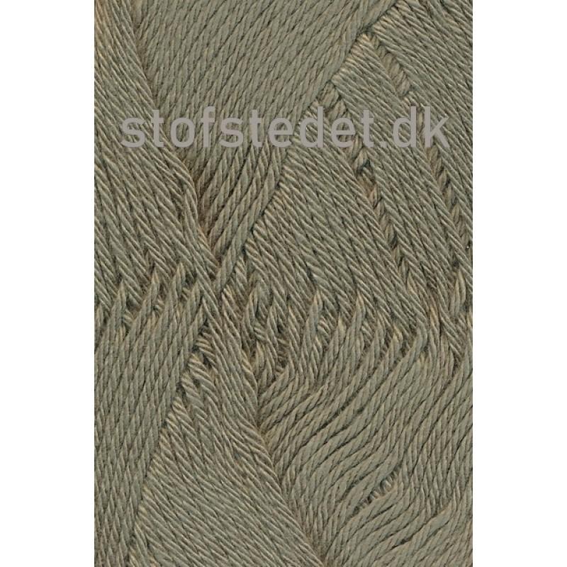 Blend-Tendens Bomuld/acryl garn i Lys Army-33