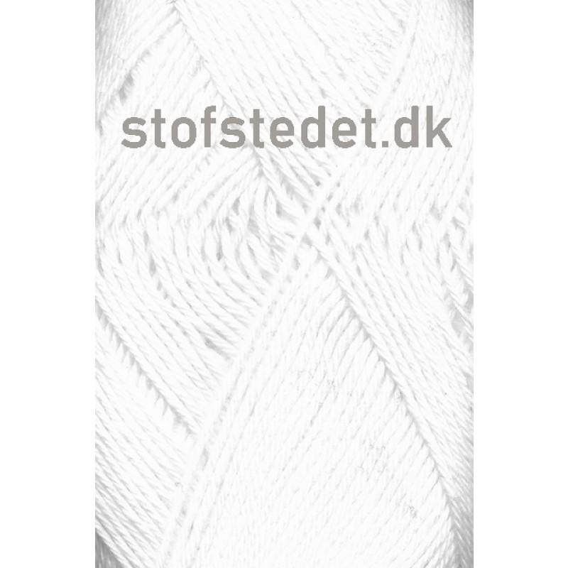 Blend-Tendens Bomuld/akryl garn i Hvid-32