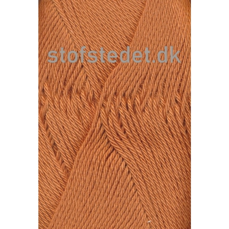 Blend /Tendens i Bomuld/acryl garn i Støvet orange-33