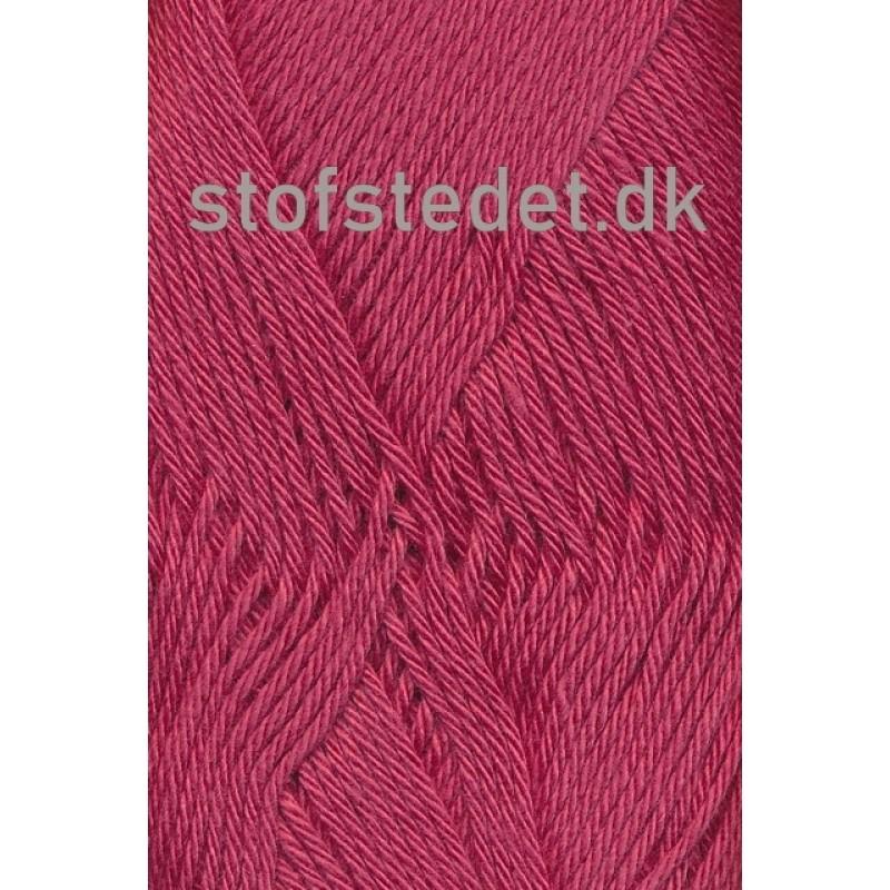 Blend-Tendens Bomuld/acryl garn Støvet Hindbærrød-34