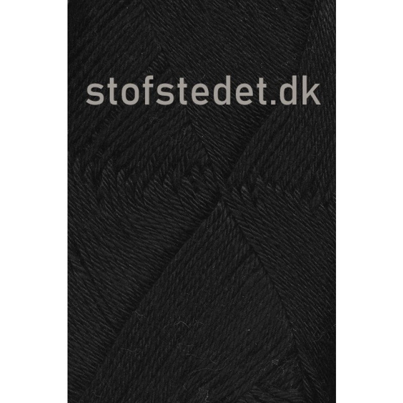 Blend -Tendens Bomuld/akryl garn i Sort