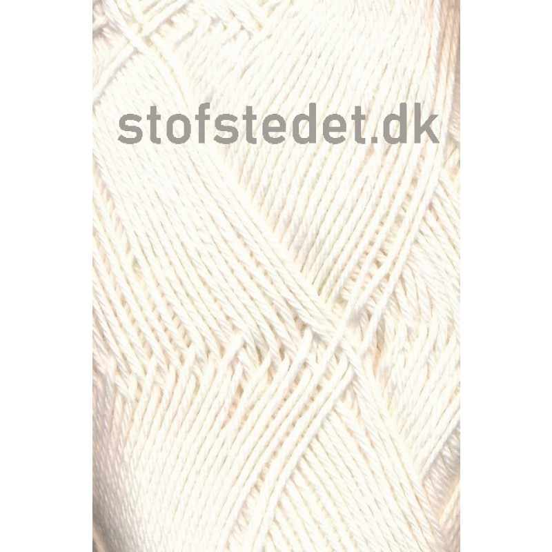 Blend-Tendens Bomuld/akryl garn i Off-white-33
