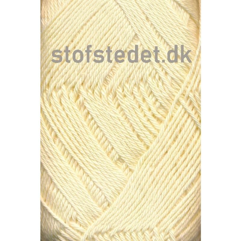 Blend-Tendens Bomuld/acryl garn i Lysegul-32
