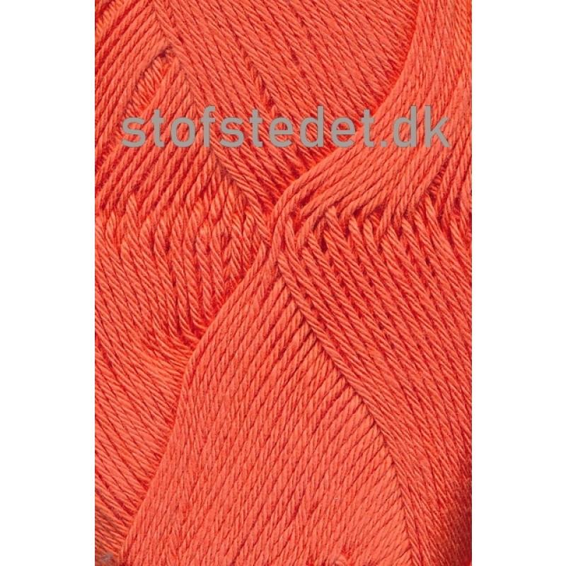 Blend -Tendens Bomuld/acryl garn i Varm orange