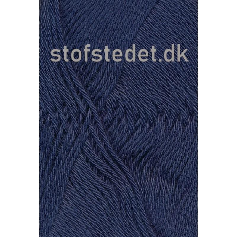 Blend-Tendens Bomuld/acryl garn Støvet mørkeblå-33