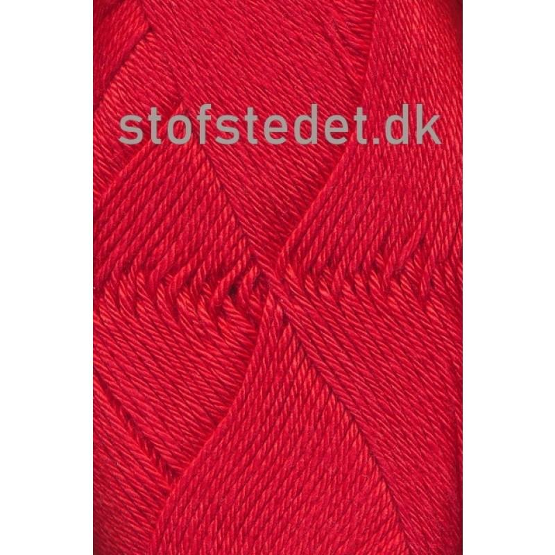Blend -Tendens Bomuld/akryl garn i Rød