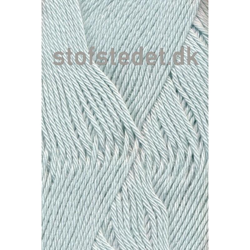 Blend-Tendens Bomuld/acryl garn lys grå-blå-33