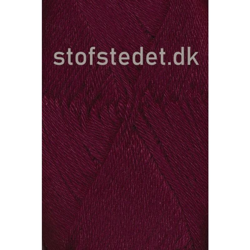 Blend-Tendens Bomuld/acryl garn i Bordeaux-32