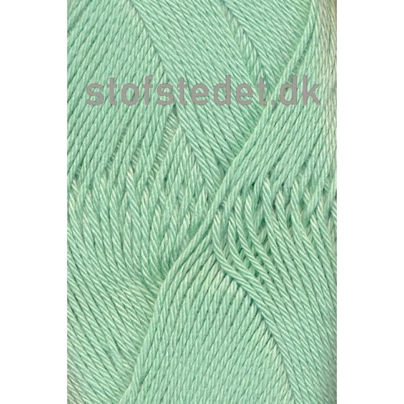 Blend -Tendens Bomuld/acryl garn i Støvet mint