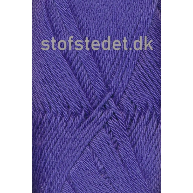 Blend-Tendens Bomuld/acryl garn i Blå/lilla-32
